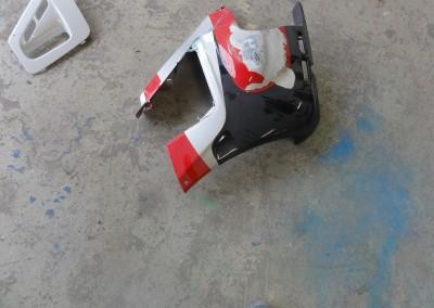Reparation af ødelagte skjolde
