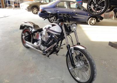 Autolakering af motorcykel